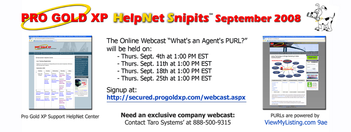What's an Agent's PURL online webcast